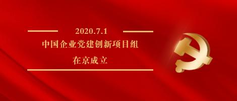 """红色动能谱新篇——""""中国企业党建创新项目组""""在京成立"""